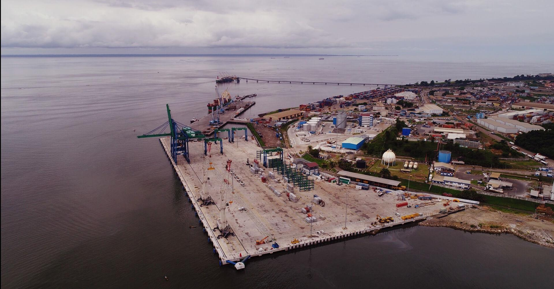New Owendo International Port, Gabon, Africa