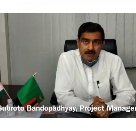 Message from Subrata Bandopadhyay, Project Manager, Lusaka City Roads Decongestion Project